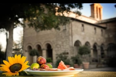 healthy-satvik-food-at-monastery - San Girolamo, YogaMea