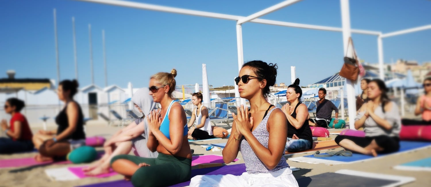 Yoga Teacher Training at YogaMea School in Italy Beach